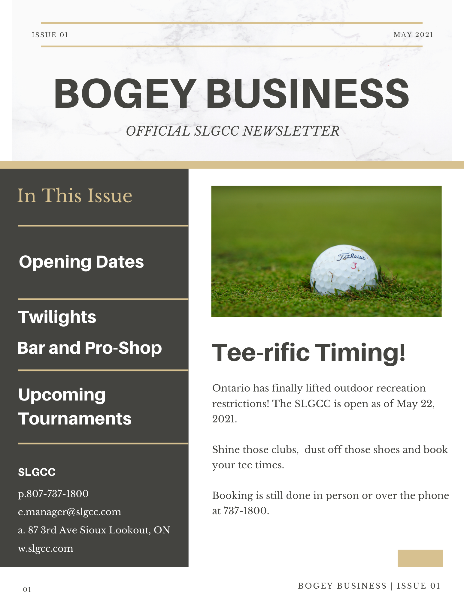Bogey Business Issue 01